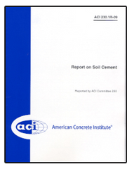 ACI-230.1R-09: Report on Soil Cement
