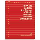 NFPA-430(04): Code for the Storage of Liquid and Solid Oxidizers