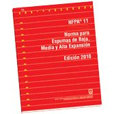 NFPA-11E(10): Norma para Espumas de Baja, Media y Alta Expansion