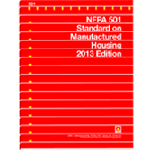 NFPA-501(13): Standard on Manufactured Housing