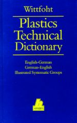 PLASTICS-01106 1992 Plastics Technical Dictionary: English–German/German–English, (Hanser)