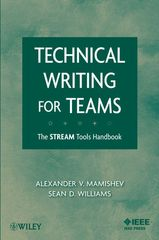 IEEE-22976-7 Technical Writing for Teams: The STREAM Tools Handbook