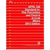 NFPA-120(15): Standard for Fire Prevention and Control in Coal Mines