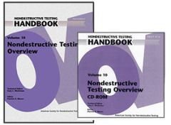 ASNT-0140WCD Nondestructive Testing Handbook, Third Edition: Volume 10, Overview (Book with CD-Rom)