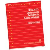 NFPA-1123E(05): Code for Fireworks Display, Spanish - Codigo para la Exhibicion de Fuegos Artificiales