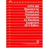NFPA-496(13): Standard for Purged and Pressurized Enclosures for Electrical Equipment