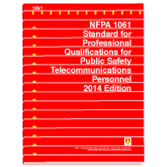 NFPA-1061(14): Standard for Professional Qualifications for Public Safety Telecommunications Personnel