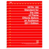 NFPA-160(16): Standard for the Use of Flame Effects Before an Audience