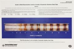 AWS- D18.2:2009L Guide to Weld Discoloration Levels on Inside of Austenitic Stainless Steel Tube (Large)