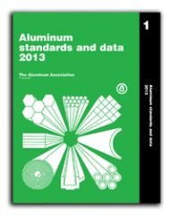 AA-ASD2013US Aluminum Standards & Data, 2013 US Book
