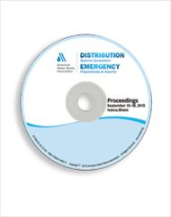AWWA-60135 2013 Distribution Systems Symposium & Emergency Preparedness & Security Conference Proceedings