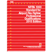 NFPA-1003(15): Standard for Airport Fire Fighter Professional Qualifications