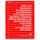 NFPA-1710(16): Standard for Organization and Deployment of Fire Suppression Operations, Emergency Medical Operations, Special Operations