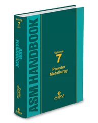 ASM-05438G-V7 Handbook, Volume 7: Powder Metallurgy (Video Presentation)