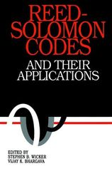 IEEE-35391-6 Reed-Solomon Codes and Their Applications