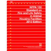 NFPA-150(13): Standard on Fire and Life Safety in Animal Housing Facilities