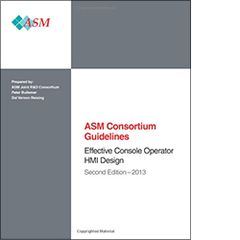 ISA-116025 ASM Consortium Guidelines: Effective Console Operator HMI Design 2013, Second Edition