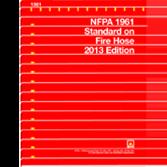 NFPA-1961-2013: Standard on Fire Hose