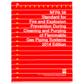 NFPA-56(14): Standard for Fire and Explosion Prevention During Cleaning and Purging of Flammable Gas Piping Systems