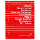 NFPA-53(11): Recommended Practice on Materials, Equipment, and Systems Used in Oxygen-Enriched Atmospheres