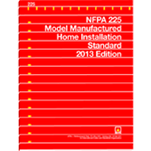 NFPA-225(13): Model Manufactured Home Installation Standard