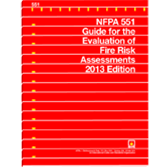 NFPA-551(13): Guide for the Evaluation of Fire Risk Assessments
