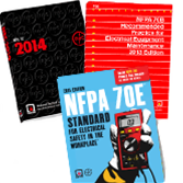 NFPA-SET178 2014 NEC Softbound, 2015 NFPA 70E, and 2013 NFPA 70B Set