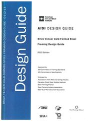 AISI-D112-13 Brick Veneer Cold-Formed Steel Framing Design Guide, 2013 Edition