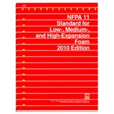 NFPA-11(10) Standard for Low-, Medium, and High-Expansion Foam