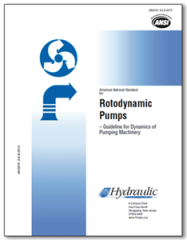 HI-A142 ANSI/HI 9.6.8-2014 Rotodynamic Pumps - Guidelines for Dynamics of Pumping Machinery
