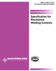 AWS- J1.1M/J1.1:2013 Specification for Resistance Welding Controls