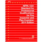 NFPA-1031(14): Standard for Professional Qualifications for Fire Inspector, Plan Examiner
