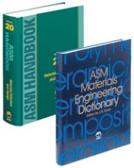 ASM-05315G Materials Selection Handbook and Dictionary Set