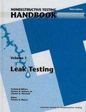 ASNT-0141-1997 Nondestructive Testing Handbook, Third Edition: Volume 1, Leak Testing (LT)