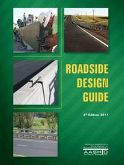 AASHTO-RSDG-4 Roadside Design Guide, 4th Edition (Video Presentation Available)