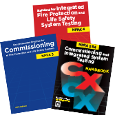 NFPA-SET230 Fire Protection, Life Safety Commissioning, Integrated System Testing (NFPA 3, NFPA 4, and Handbook Set) 2015 Edition