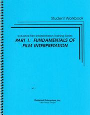 ASNT-0262-2003 Fundamentals of Film Interpretation (Student Workbook only)