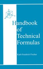 PLASTICS-02486 1999 Handbook of Technical Formulas, (Hanser)