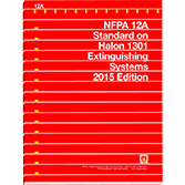 NFPA-12A(15): Standard on Halon 1301 Fire Extinguishing Systems