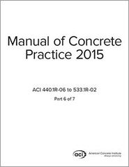 ACI-MCP-6(15) Manual of Concrete Practice Part 6 (2015)