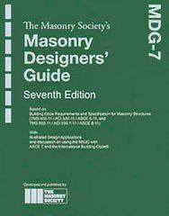 ACI-MDG-7 Masonry Designers' Guide - 7th Edition