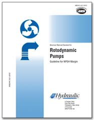 HI-A118 ANSI/HI 9.6.1-2012 Rotodynamic Pumps Guideline for NPSH Margin