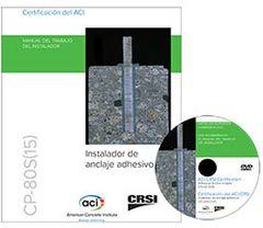 ACI-CP-80SPACK Instalador de anclaje adhesivo