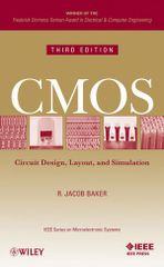 IEEE-03823-9 CMOS: Circuit Design, Layout, and Simulation, 3rd Edition (Video Presentation Available)