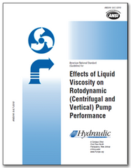 HI-B131 ANSI/HI 9.6.7-2010 Effects of Liquid Viscosity on Rotodynamic (Centrifugal and Vertical) Pump Performance