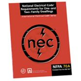 NFPA-70A-2005: National Electrical Code® Requirements for One-and Two-Family Dwellings