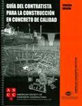 ACI-ASCC-1(05)S Guia del Contratista para la Construcción en Concreto de Calidad
