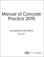 ACI-MCP-2(15) Manual of Concrete Practice Part 2 (2015)