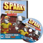 NFPA-VC110DVD Sparky and the Runaway Robot! DVD