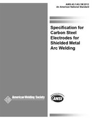 AWS- A5.1/A5.1M:2012 Specification for Carbon Steel Electrodes